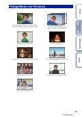 Sony NEX-C3D - NEX-C3D Consignes d'utilisation Allemand - Page 6