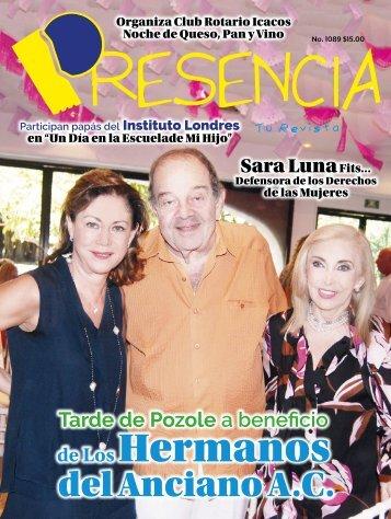 Revista Presencia Acapulco 1089
