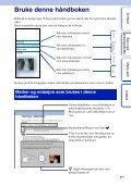 Sony NEX-C3D - NEX-C3D Consignes d'utilisation Norvégien - Page 2