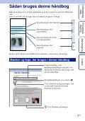 Sony NEX-C3D - NEX-C3D Consignes d'utilisation Danois - Page 2