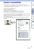 Sony NEX-C3D - NEX-C3D Consignes d'utilisation Néerlandais - Page 5