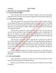 GIÁO TRÌNH THÍ NGHIỆM HÓA HỮU CƠ (9 BÀI THÍ NGHIỆM)