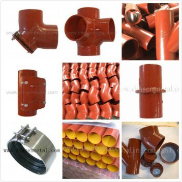Dinsen EN877 Cast iron soil pipe fittings