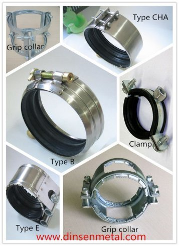 rapid stainless steel couplings for SML