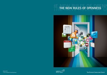 The New Rules of Openness – 2011 - Liberty Global