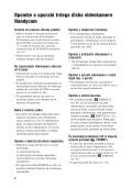 Sony DCR-SR190E - DCR-SR190E Mode d'emploi Slovénien - Page 4