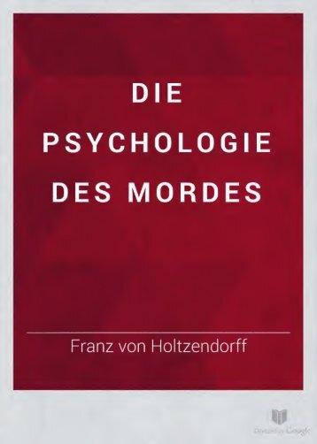 Psychologie des Mordes