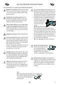 KitchenAid VT 266 BL - VT 266 BL SV (858726699490) Istruzioni per l'Uso - Page 3
