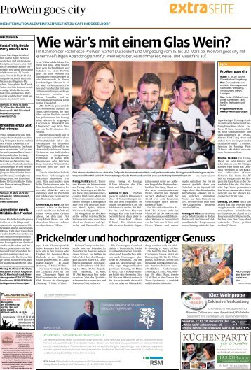 ProWein goes city  -10.03.2018-