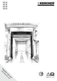 Karcher TB 36 - manuals