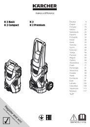 Karcher K 2 - manuals