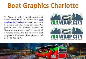 Boat Graphics Charlotte