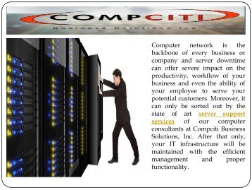 Server Support Service in New York
