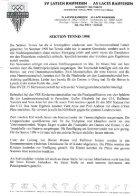 Geschichter der Sektion Tennis ab1997 - Page 5