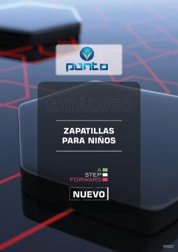 "CATALOGO DE ZAPATILLAS PARA NIÑOS ""PUNTO V"""