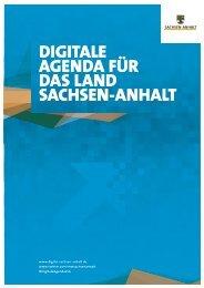 Digitale Agenda für das Land Sachsen-Anhalt