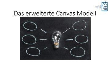 Das erweiterte Canvas Modell
