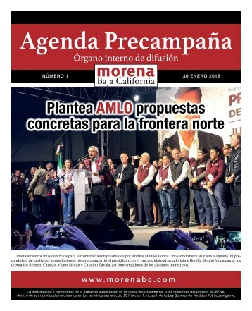 Agenda Precampaña
