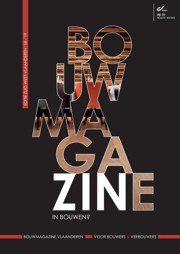 BouwMagazine Zuid-West-Vlaanderen 2018-2019