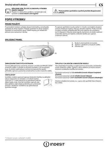 KitchenAid B 18 A1 D.CN/I - B 18 A1 D.CN/I CS (F093236) Setup and user guide