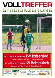 8. Ausgabe Stadionzeitung 2017/18