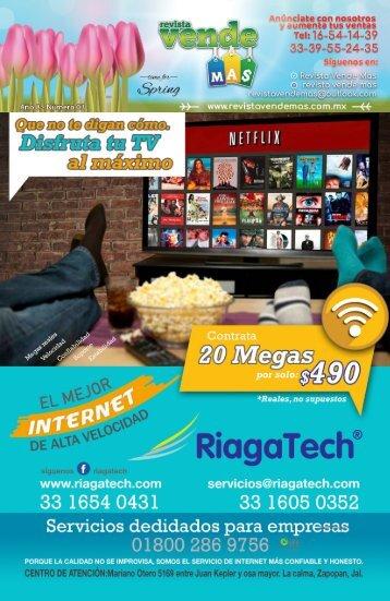 Revista Vende Más, edición Marzo 2018