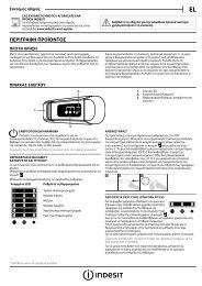 KitchenAid B 18 A1 D V E S/I - B 18 A1 D V E S/I EL (F093227) Setup and user guide