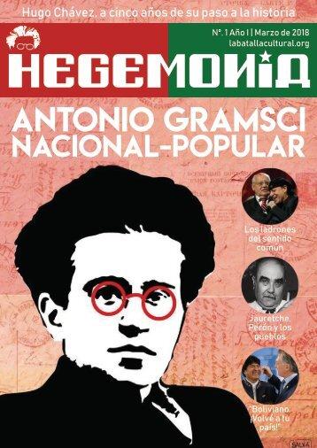 Revista Hegemonía. Año I Nº. 1