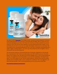 Testo Ultra - Get Your Maximum Sexual Power