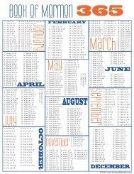 BOM Reading Calendar