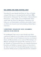 Cheers for Fears Festival 2018 - Programmheft - Page 3
