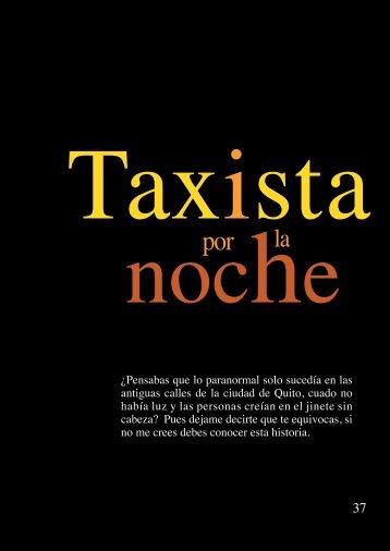 taxista por la noche