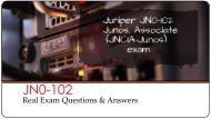 JN0-102 Braindumps