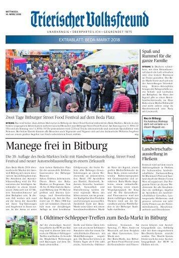 Extrablatt BEDA-MARKT 2018