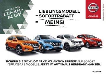 Nissan: Das große Ein-Mal-Meins!
