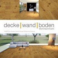 dwb Produktinformation PrintCork Boden Wildeiche Exklusiv