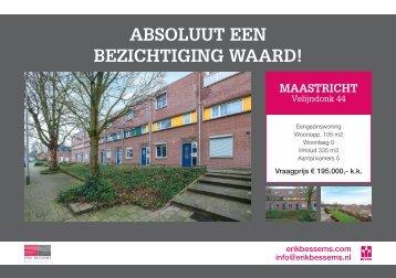 Erik Bessems Makelaardij, Te Koop in Maastricht!