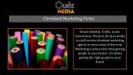 Social Media Marketing Services in Cleveland | Quez Media Marketing