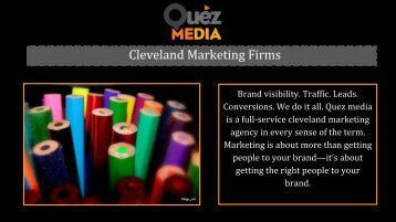 Social Media Marketing Services in Cleveland | Quez Media Marketing
