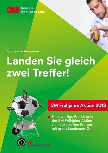 3M Frühjahrs-Aktion 01.03. - 31.05.18