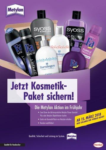 Metylan Kosmetik Paket-Aktion 15.03. - s.d.V.r.