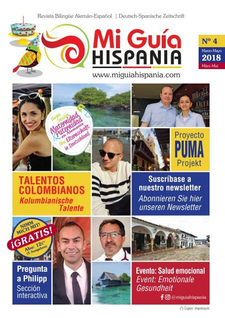 Magazin MGH Ed.4 / Partnerland: Colombia