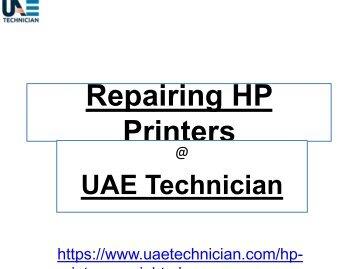 HP Printer Repair Service Contact us +971-523252808