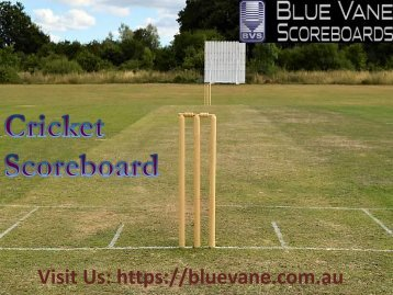 Buy Cricket Scoreboard Australia from Blue Vane, Ringwood, Victoria