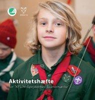 Aktivitetshæfte for KFUM-Spejdernes Svanemærke