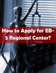 How to Apply for EB-5 Regional Center