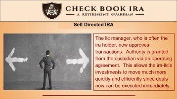 IRA LLC Custodian | Check Book IRA LLC