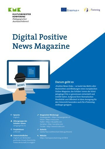 "Projektkit: ""Digital Positive News Magazine"""