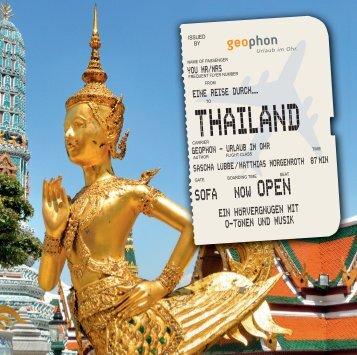 geophon Hörbuch Thailand Booklet