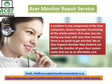 Acer monitor repair service number- 098015144